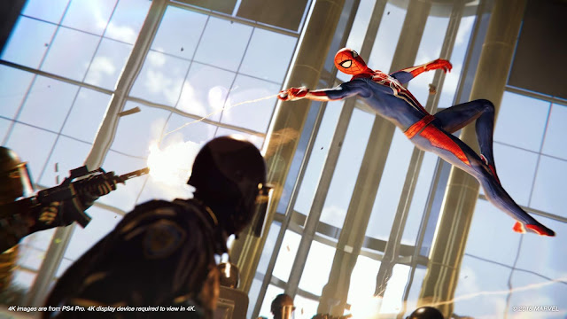 Talking Marvel's Spider-Man with Insomniac Games