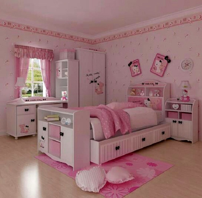 beautiful hello kitty room ideas