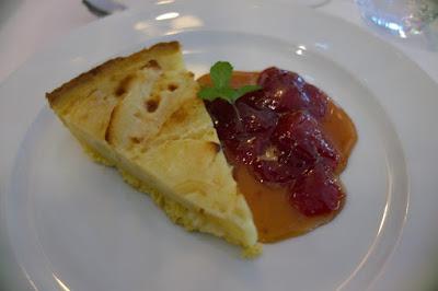 Dessert restaurant Le Joséphine à l'hôtel L'Impératrice à Fort de France, blog Délices à Paris.