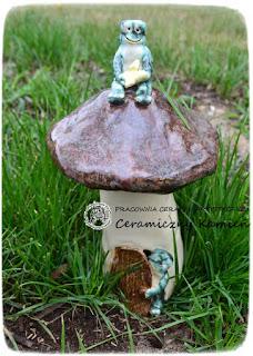 Kto mieszka w grzybie?