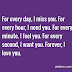 I Miss You and Love You Quotes and Sayings
