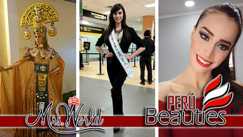 MRS WORLD 2016 | Mrs World Perú rumbo a Corea