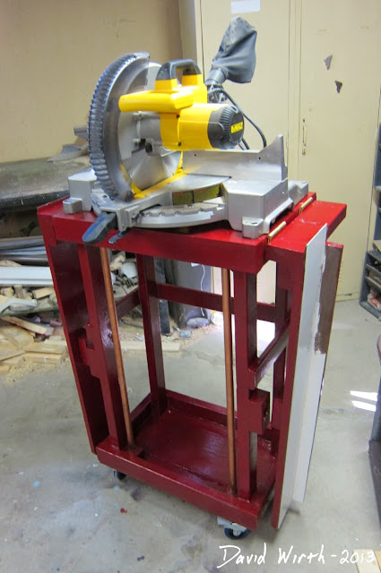 compact miter saw stand, wood, cheap