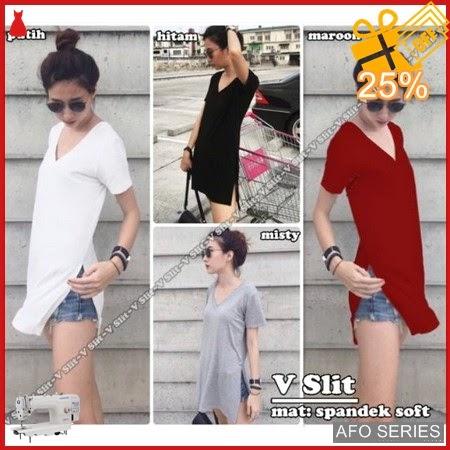 AFO219 Model Fashion V Slit Modis Murah BMGShop