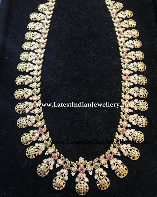 916 Gold Ram Mala