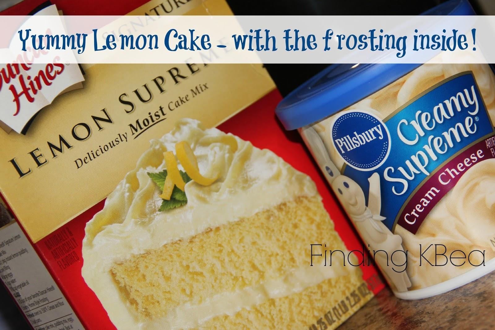 Lemon Cake Recipes Using Box Mix: Finding KBea: Yummy Lemon Cake