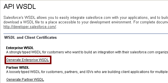 Infallible Techie: Java to Salesforce Connection