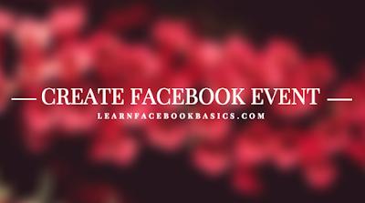 How do I Create New Facebook Event?