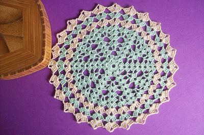 Crochet: decorative stitch 1 - Uncinetto: punto decorativo 1