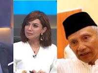 Dicecar Pertanyaan oleh Najwa Soal Omongan Partai Setan Amien Rais, Reaksi Sekjen PAN Ini Jadi Sorotan!
