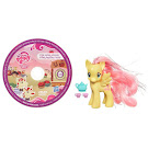 My Little Pony Single with DVD Fluttershy Brushable Pony