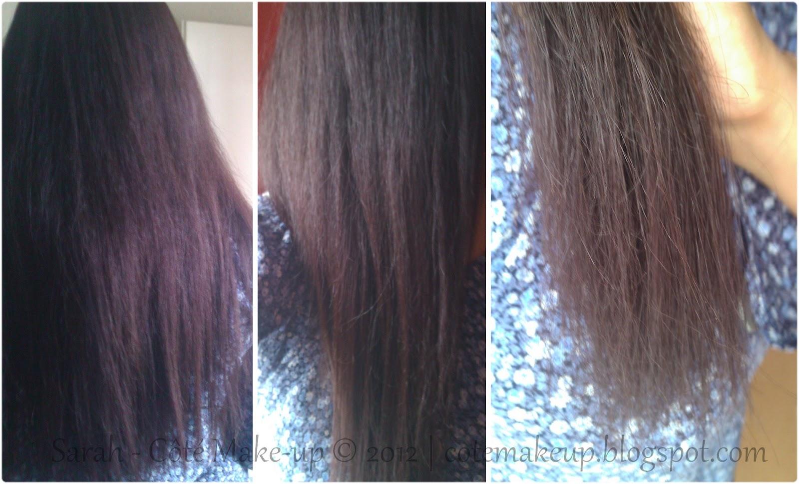 Cheveux longs abimes