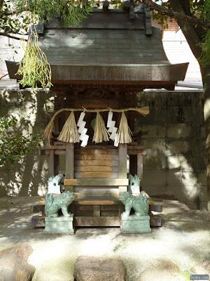 厳島神社狛犬