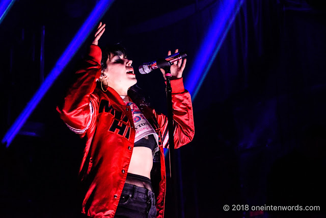 Sleigh Bells at The Mod Club on January 28, 2018 Photo by John at One In Ten Words oneintenwords.com toronto indie alternative live music blog concert photography pictures photos