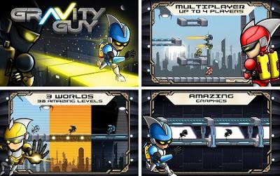 Juego de plataformas Gravity Guy