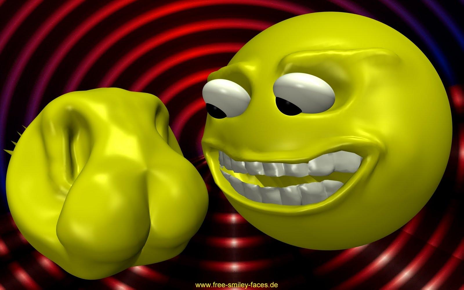 free 3d emoticons smileys free hd desktop wallpapers. Black Bedroom Furniture Sets. Home Design Ideas