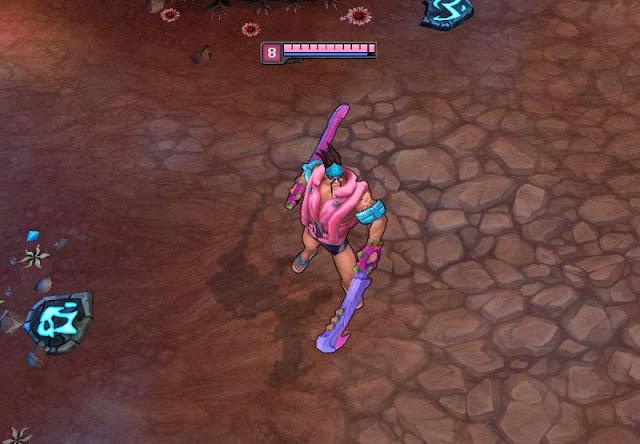 Mod Skin Draven Pink Pool Party