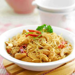 Ide Resep Masak Bihun Ayam Kungpao