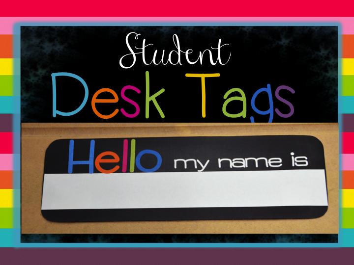 Student Name Plates: Elementary Shenanigans: Classroom Decor Mega Bundle