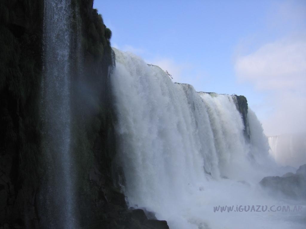 Cascada del lado brasilero