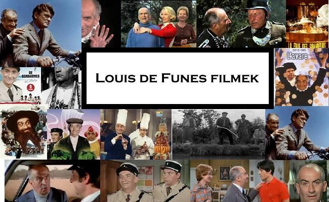 Louis de Funes filmek
