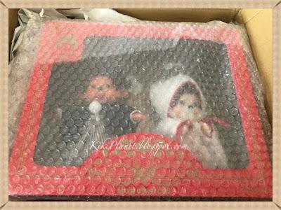 kiki monchhichi doll japanese japonais wedding box coffret mariés référence 260890