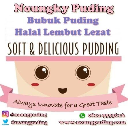 bubuk puding noung