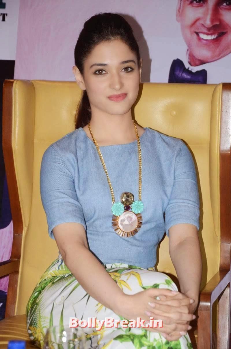 , Tamanna Bhatia Pics from It's Entertainment Movie Press Meet