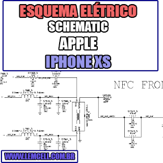 Esquema Eletrico Smartphone Apple iPhone XS Manual de Serviço