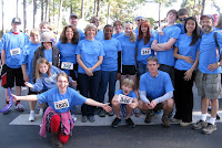 group photo of Walk for Hope team