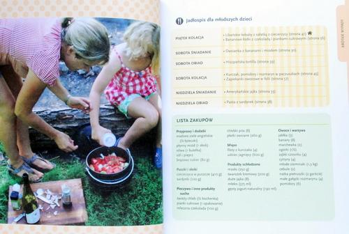 Przykładowe jadłospisy i lista zakupów