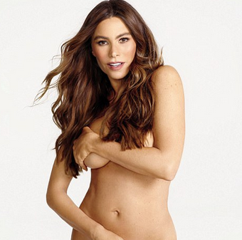 Sofia-Vergara-goes-completely-naked-for-Womens-Health-magazine