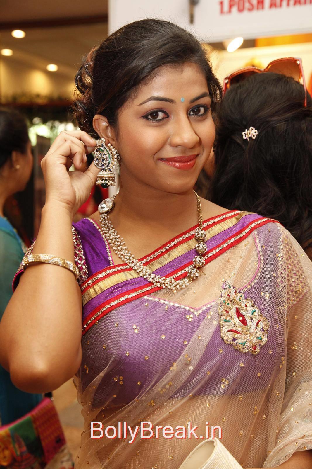 Telugu Actress Geethanjali, Geethanjali Hot Pics from Akritti Elite Exhibition Launch