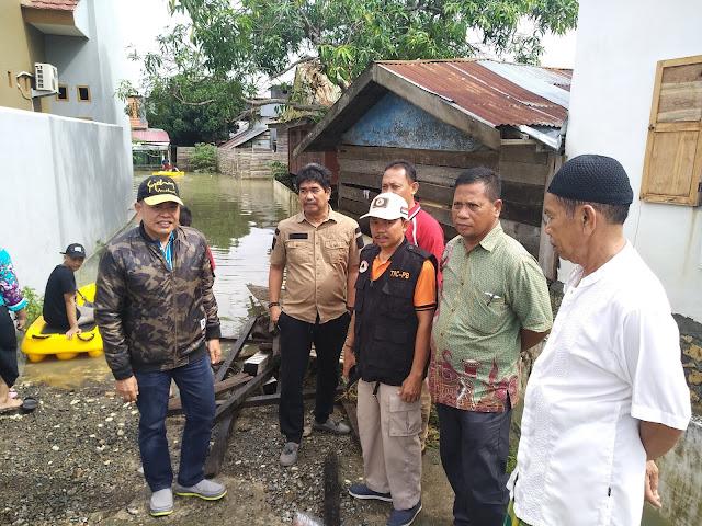 Pj Bupati Bone Pantau Banjir, Dinas Sosial Diharap Buat Dapur Umum