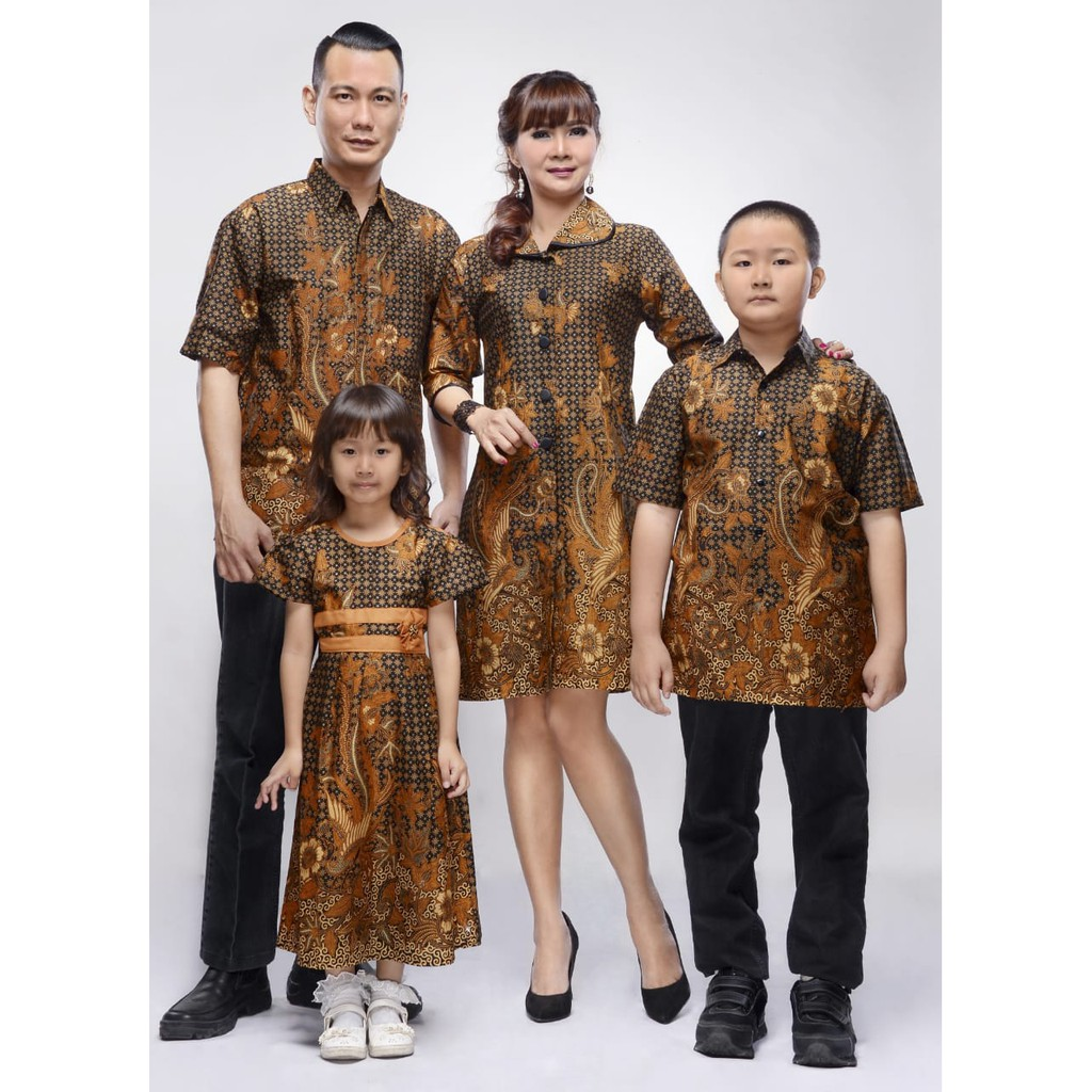 Batik Couple Keluarga Tunik Zahra HQ