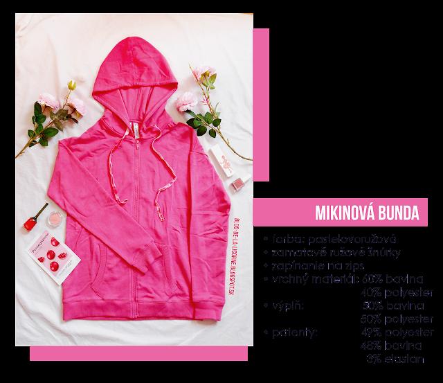 Mikinová bunda so zamatovými šnúrkami Bonprix