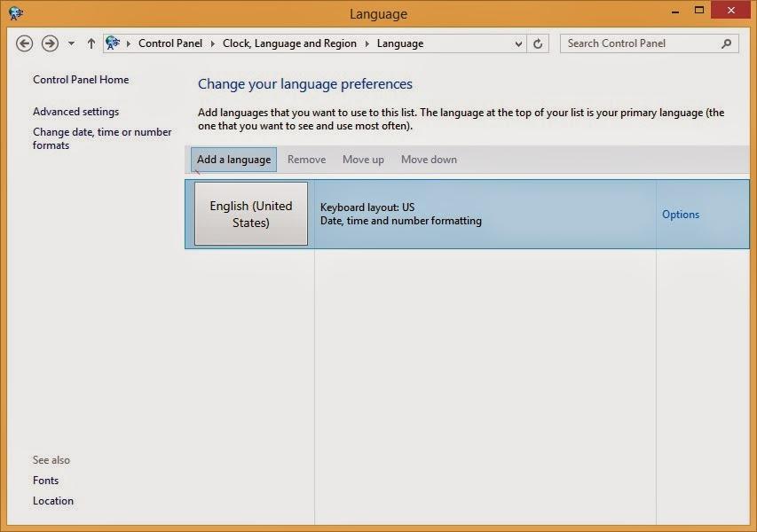 prerence language