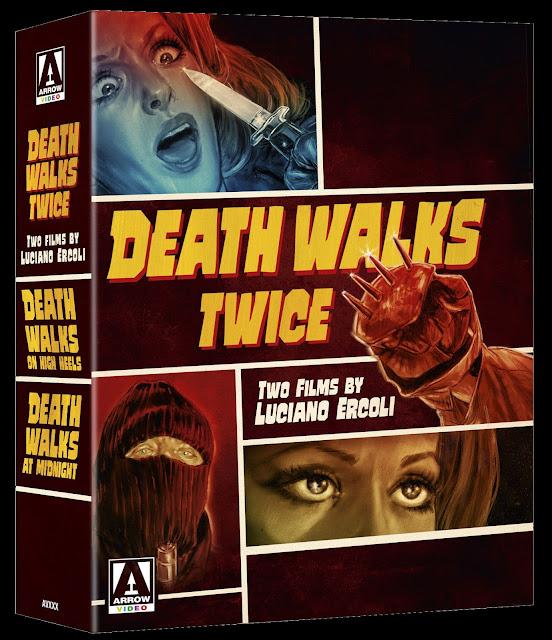 Death Walks Twice box set from Arrow Video