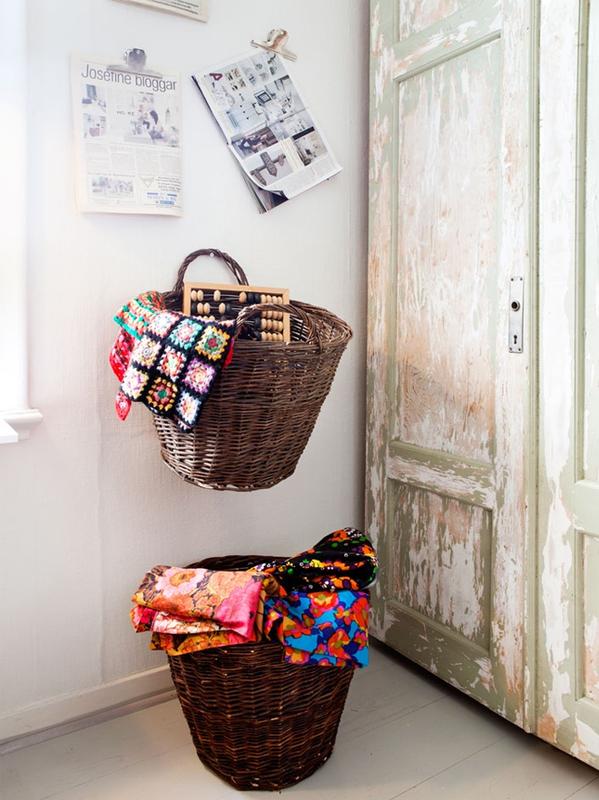 Decoración de un taller artístico y textil