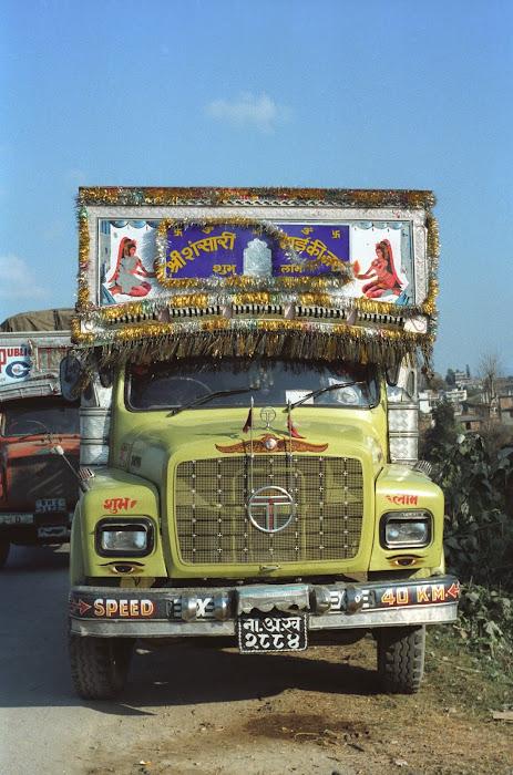 Népal, Katmandou, Tata, © L. Gigout, 1990