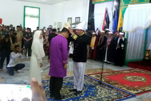 Wow, Panglima TNI Gatot Nurmantyo Dapat Gelar Panglima Perang Besar dari Sultan Tidore