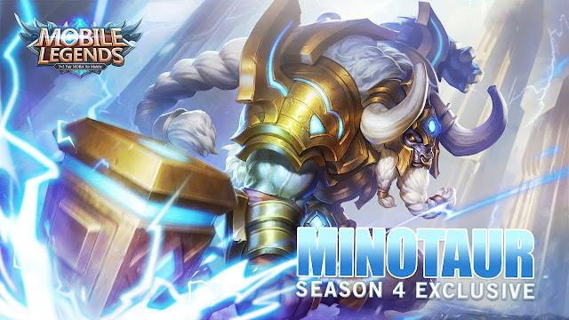 Minotaur Build, Skill, Harga, Set Emblem, Hingga Ability Yang Cocok Untuknya