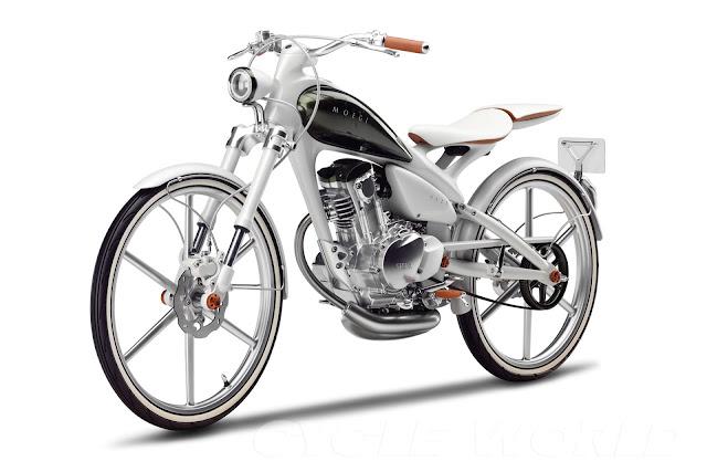 Planet Japan Blog: Yamaha Y125 Moegi Concept @ Tokyo Motor