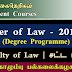 Master of Law Degree Programme - கொழும்பு பல்கலைக்கழகம்.
