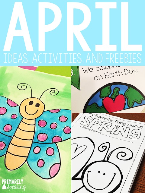 Teaching Ideas for the Month of April