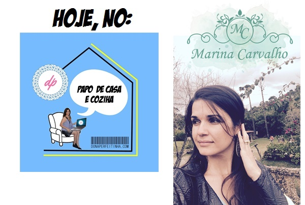 Marina Carvalho, escritora, é nossa entrevistada de hoje no podcast Papo de Casa e Cozinha