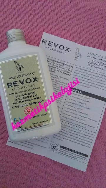 Revox At Kuyruğu Şampuanı Deneyimim