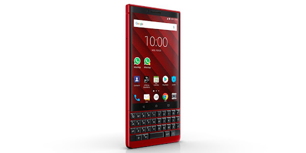 BlackBerry KEY2 will be offered in limited edition red color