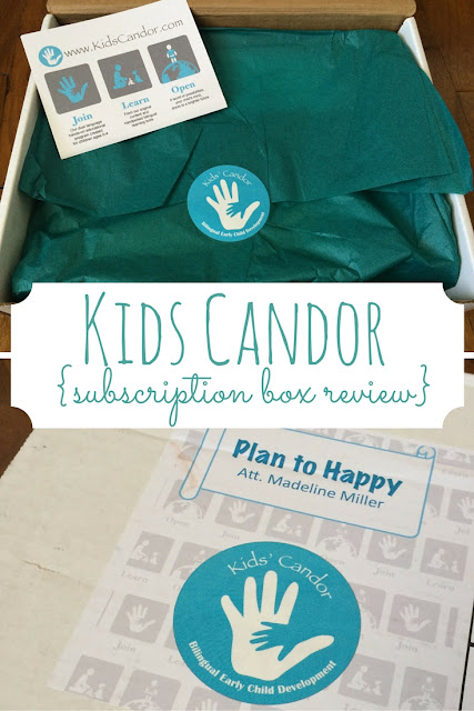 The Kids Candor Subscription Box is an all in one bilingual education system that is lovingly and thoughtfully curated.