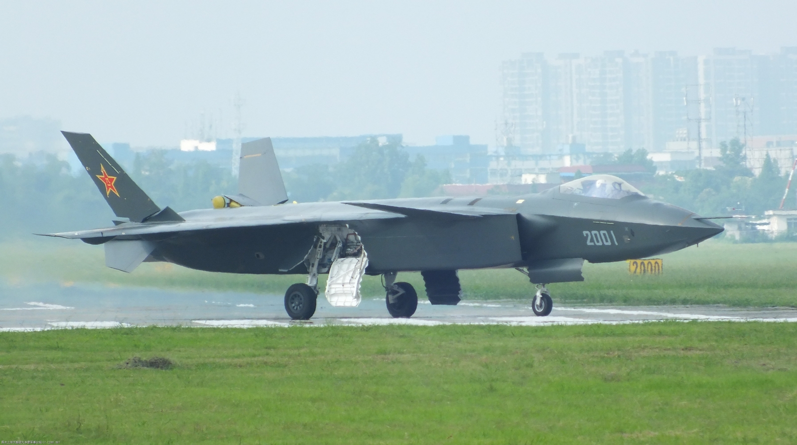Chinese J-20 Stealth Fighter Images
